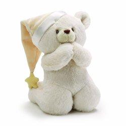 Gund Prayer Teddy Bear Stuffed Animal Sound Toy