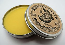 Honest Amish Original Beard Wax – All Natural and Organic