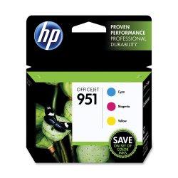 HP 951 (CR314FN) Cyan/Magenta/Yellow Original Ink Cartridge Combo Pack