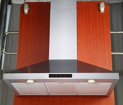 Kitchen Bath Collection 30-inch Wall-mounted Stainless Steel Range Hood