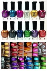 Kleancolor Nail Polish – Awesome Metallic Full Size Lacquer Lot of 12-pc Set