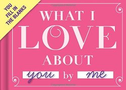 Knock Knock What I Love About You Fill-in-the-Blank Journal