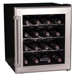 Koldfront 16 Bottle Thermoelectric Wine Cooler – Platinum
