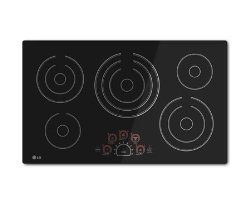 LG LCE3610SB 36″ Black Electric Smoothtop Cooktop