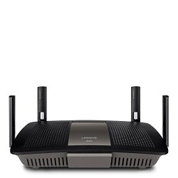 Linksys AC2400 4X4 Dual-Band Gigabit Wi-Fi Router, Optimal for HD Video Streaming and Lag-Free Gaming (E8350)