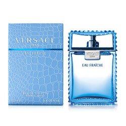 Man Eau Fraiche Eau De Toilette Spray Men by Versace, 6.7 Ounce