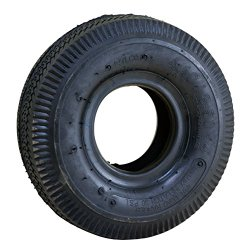 Marathon Industries 20501 4.10/3.50-4″ – 4 Ply Rubber Replacement Wheel Tire and Tube