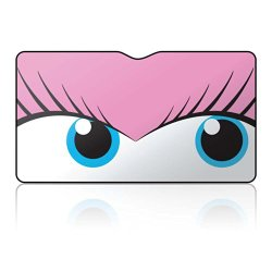 mAuto 3061 'Pretty Pink Flirty Eyes' Car Sun Shade