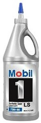 Mobil 1 104361 75W-90 Synthetic Gear Lube  1 Quart Pack of 12