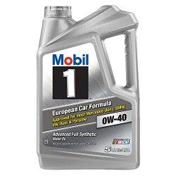 Mobil 1 (120845) 0W-40 Synthetic Motor Oil – 5 Quart