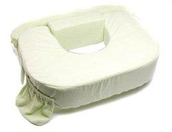 My Brest Friend Twins Plus Deluxe Nursing Pillow, Green, 0-12 Months