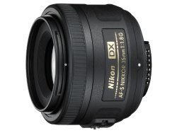 Nikon 35mm f/1.8G AF-S DX Lens for Nikon Digital SLR Cameras