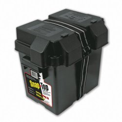NOCO HM306BKS Single 6V Snap-Top Battery Box for Automotive, Marine, and RV Batteries