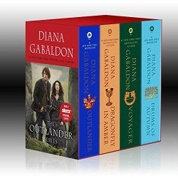 Outlander 4 Copy Boxed Set Outlander Dragonfly in Amber Voyager Drums of Autumn