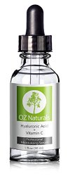 OZ Naturals – THE BEST Hyaluronic Acid Serum For Skin