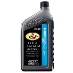 Pennzoil 550040856 Ultra Platinum 0W-40 Full Synthetic Motor Oil – 1 Quart
