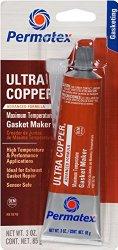 Permatex 81878-12PK Ultra Copper Maximum Temperature RTV Silicone Gasket Maker, 3 oz.