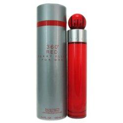 Perry Ellis 360 Red By Perry Ellis For Men. Eau De Toilette Spray 3.4 Ounces