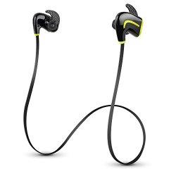 Photive PH-BTE50 Lightweight Wireless Bluetooth 4.0 Sports Headphones. Premium Swea