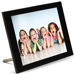 Pix-Star 15 Inch Wi-Fi Cloud Digital Photo Frame FotoConnect XD  (Black)
