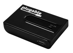 Plugable® USB 2.0 Switch for One-Button Swapping of USB Device/Hub Between Two Computers