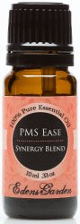 PMS Ease Synergy Blend Essential Oil- 10 ml (Comparable to DoTerra's Women Solace & Young Living's Dragon Time Blend)
