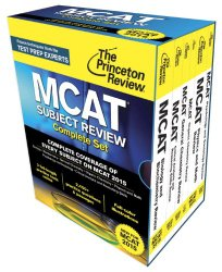 Princeton Review MCAT Subject Review Complete Box Set: New for MCAT 2015 (Graduate School Test Preparation)