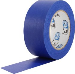 ProTapes Pro Scenic 714 Crepe Paper 14 Day Easy Release Painters Masking Tape, 60 yds Length x 1″ Width, Blue (Pack of 1)