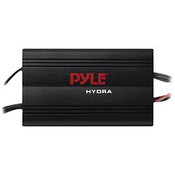 Pyle PLMRMP3B 4 Channel 800 Watt Waterproof Micro Marine Amplifier