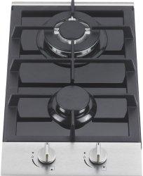 Ramblewood GC2-48P (LPG/Propane Gas) high efficiency 2 burner gas cooktop