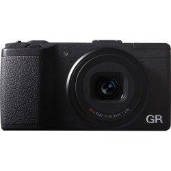 Ricoh GR 16.2 MP Digital Camera with 3.0-Inch LED Backlit (Black)