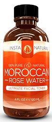 Rose Water Toner for Face – 100% Pure & Natural Insta Natural