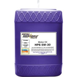 Royal Purple 35530 HPS 5W-30 High Performance Street Synthetic Motor Oil with Synerlec – 5 gal.