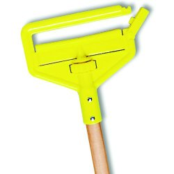 Rubbermaid Commercial FGH115000000 Commercial Invader Side-Gate Hardwood Handle Wet Mop
