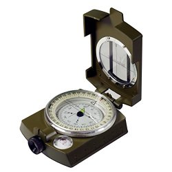 SE CC4580 Military Prismatic Sighting Compass with Pouch
