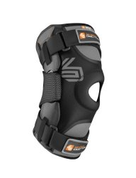 Shock Doctor Ultra Knee Supporter with Bilateral Hinges (Black, XX-Large)