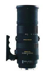 Sigma 150-500mm f/5-6.3 AF APO DG OS HSM Telephoto Zoom Lens for Nikon Digital SLR Cameras