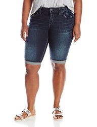 How much does Silver Jeans Junior's Plus-Size Plus Size Suki Mid ...