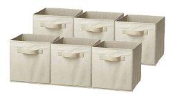 Sorbus® Foldable Storage Cube Basket Bin (6 Pack)