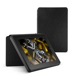 Standing Leather Case for Fire HD 7 Black