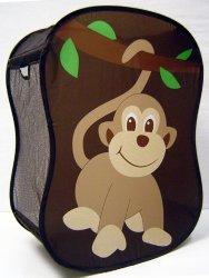 Starting Small Monkey Novelty Hamper in Brown,  18 x 11 x 24