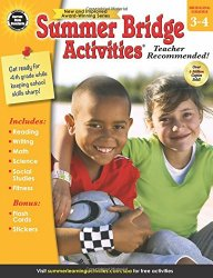 Summer Bridge Activities, Grades 3 – 4
