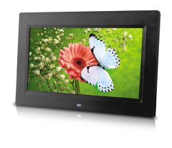 Sungale PF1025 10-Inch Digital Photo Frame (Black)