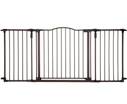 Supergate Deluxe Décor Metal Gate, Brown