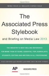 The Associated Press Stylebook 2013