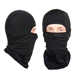 The Friendly Swede Nordic Balaclava, 2 Pack, Black and Black