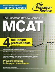 The Princeton Review Complete MCAT: New for MCAT 2015 (Graduate School Test Preparation)