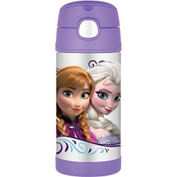 Thermos 12 Ounce Funtainer Bottle, Frozen