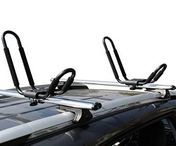 TMS KAYAK-RK-J(1BOX) Roof J Rack Kayak Boat Canoe Surf Ski Car Top Carrier