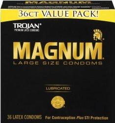 Trojan Condom Magnum Lubricated
